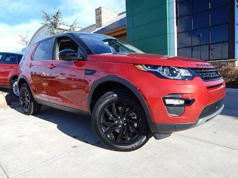 New 2017 Land Rover Discovery Sport HSE Black Design Package Four Wheel Drive SUV