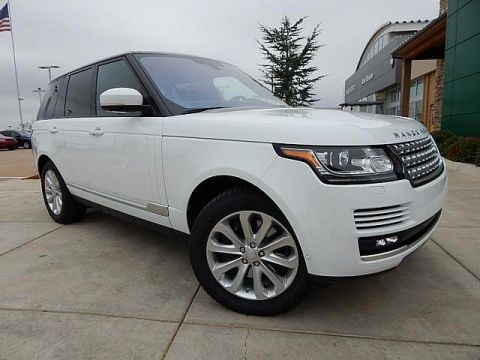 New 2016 Land Rover Range Rover 3.0L V6 Supercharged HSE 4WD