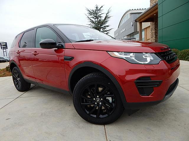 New 2017 Land Rover Discovery Sport SE Black  Package