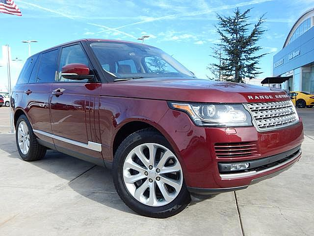 New 2016 Land Rover Range Rover 3.0L V6 Supercharged HSE